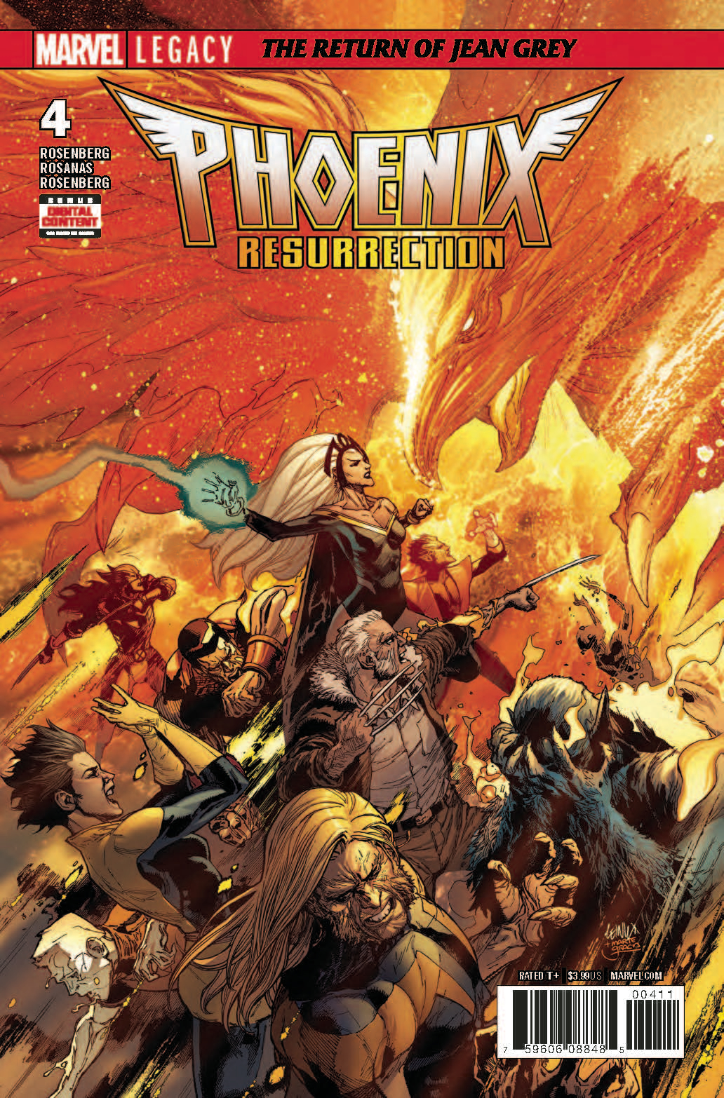 PHOENIX RESURRECTION RETURN JEAN GREY #4 (OF 5) LEG