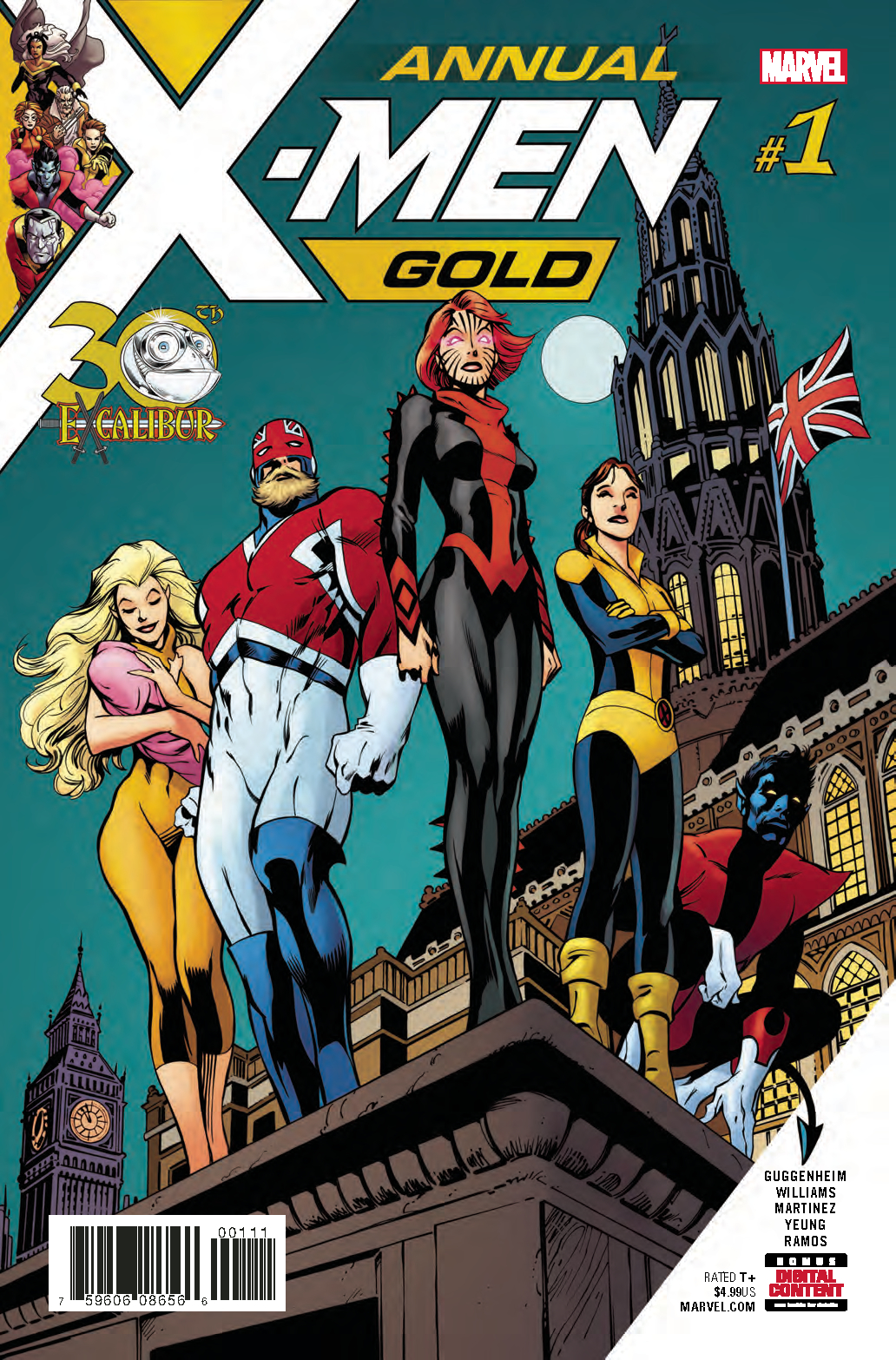 X-MEN GOLD ANNUAL #1 LEG