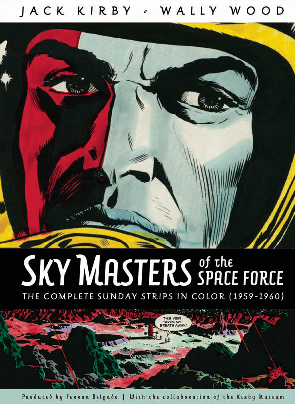 SKYMASTERS SPACE FORCE COMP SUNDAYS 1959-1960 HC (RES)