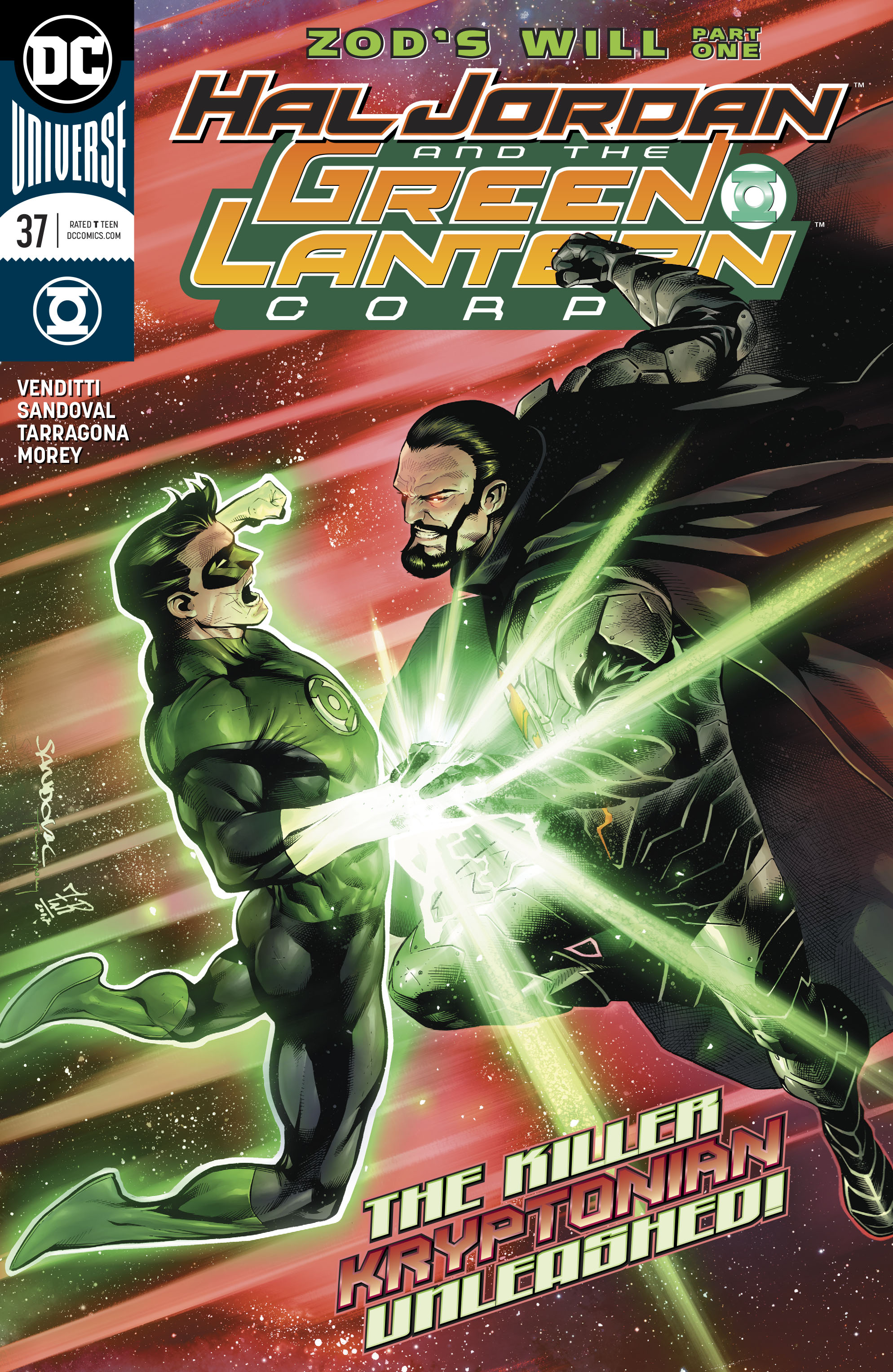HAL JORDAN AND THE GREEN LANTERN CORPS #37