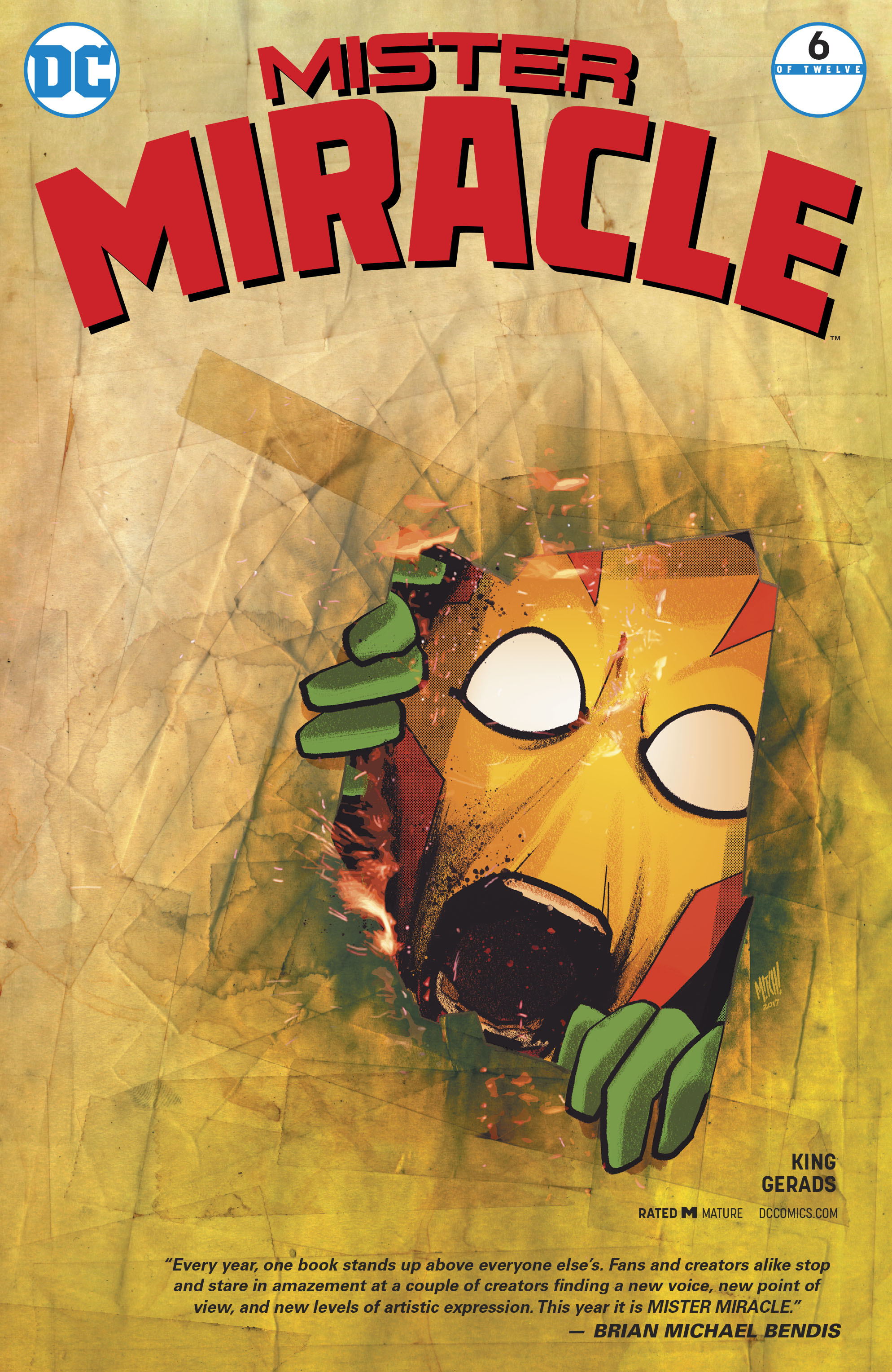 MISTER MIRACLE #6 (OF 12) VAR ED (MR)