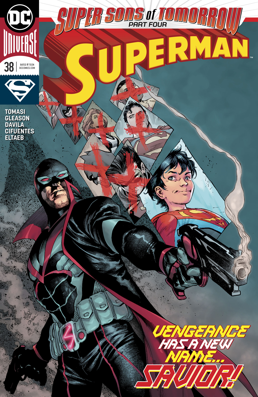 SUPERMAN #38 SONS OF TOMORROW