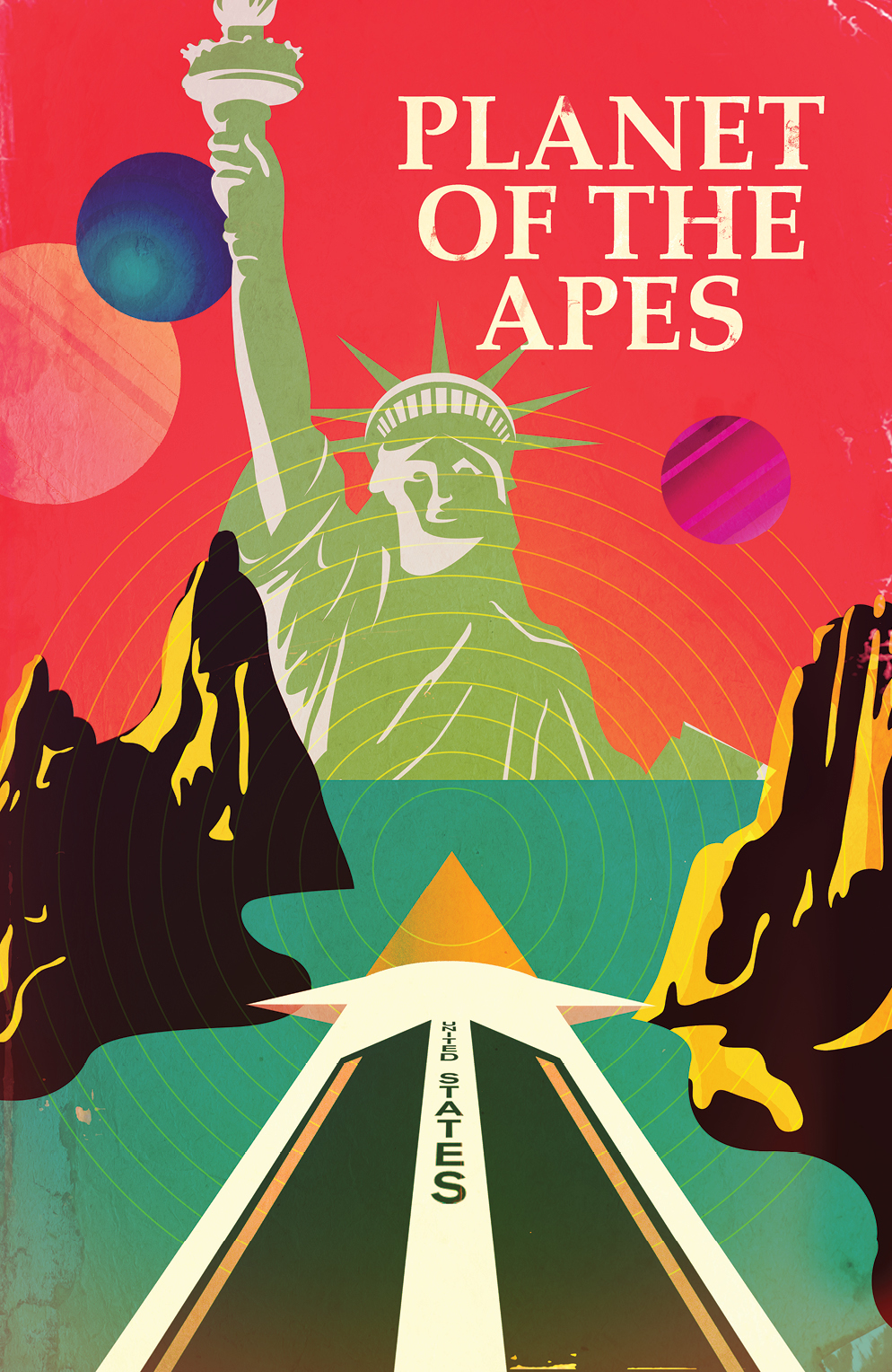 PLANET OF THE APES URSUS #1 SUBSCRIPTION CAREY VAR