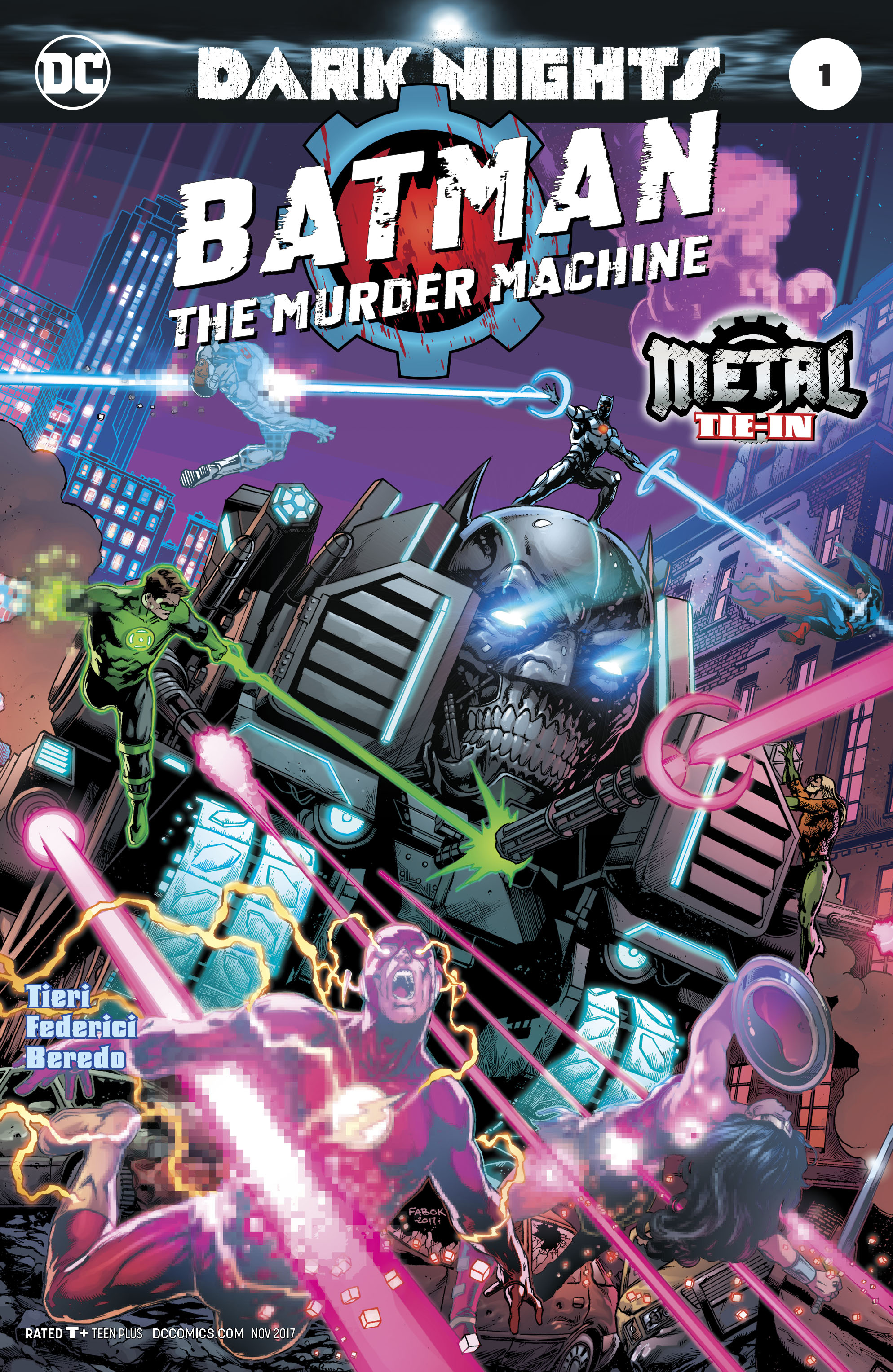 BATMAN THE MURDER MACHINE #1 2ND PTG METAL