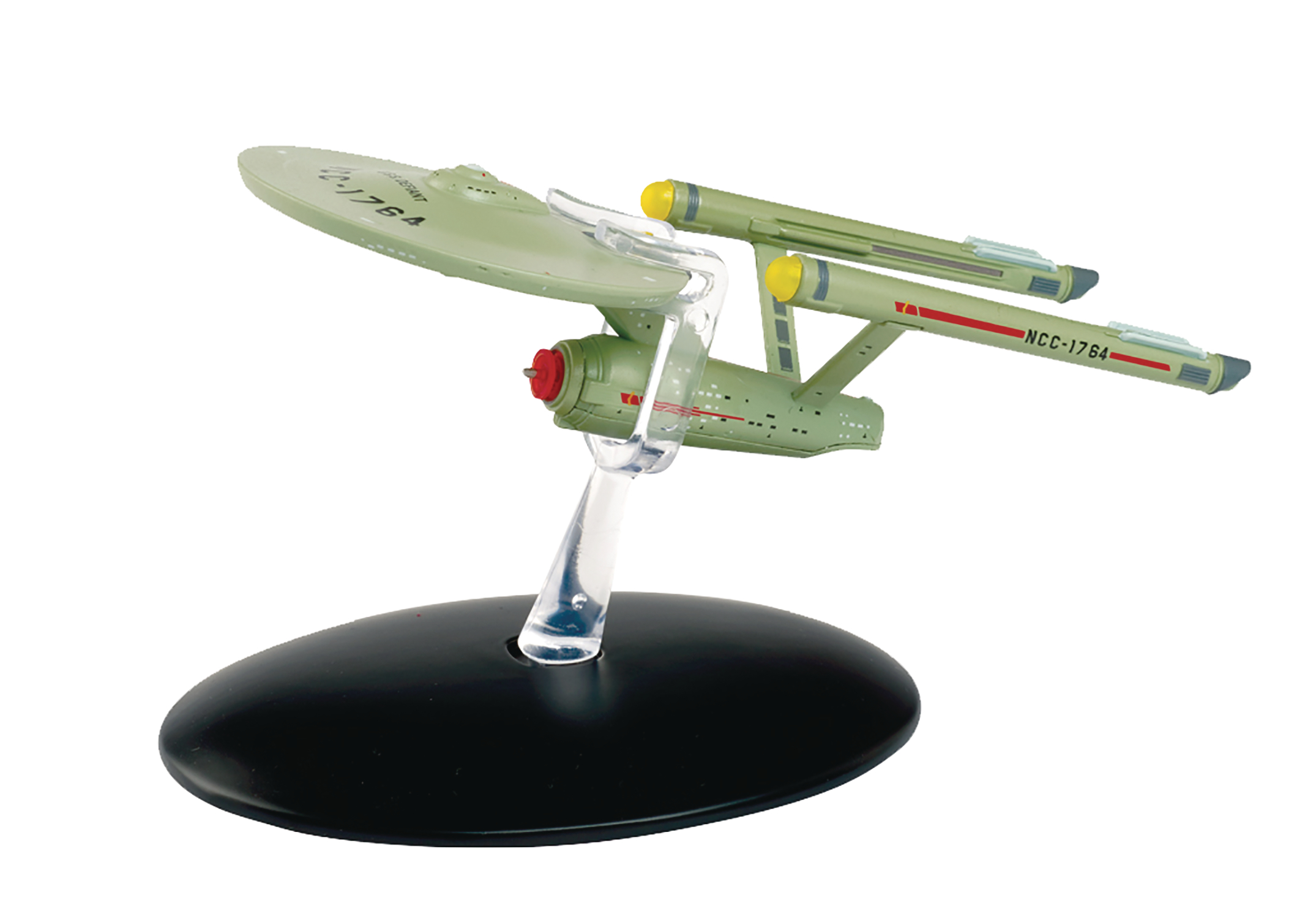 STAR TREK STARSHIPS FIG MAG BONUS #6 USS DEFIANT GID INTERPH