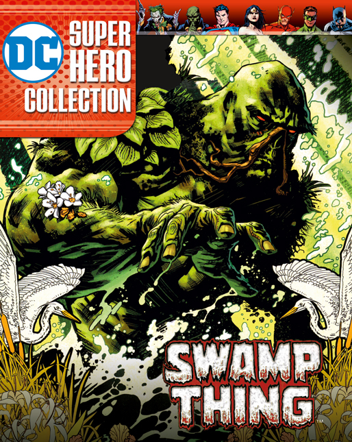 DC SUPERHERO BEST OF FIG SPECIAL #6 SWAMP THING