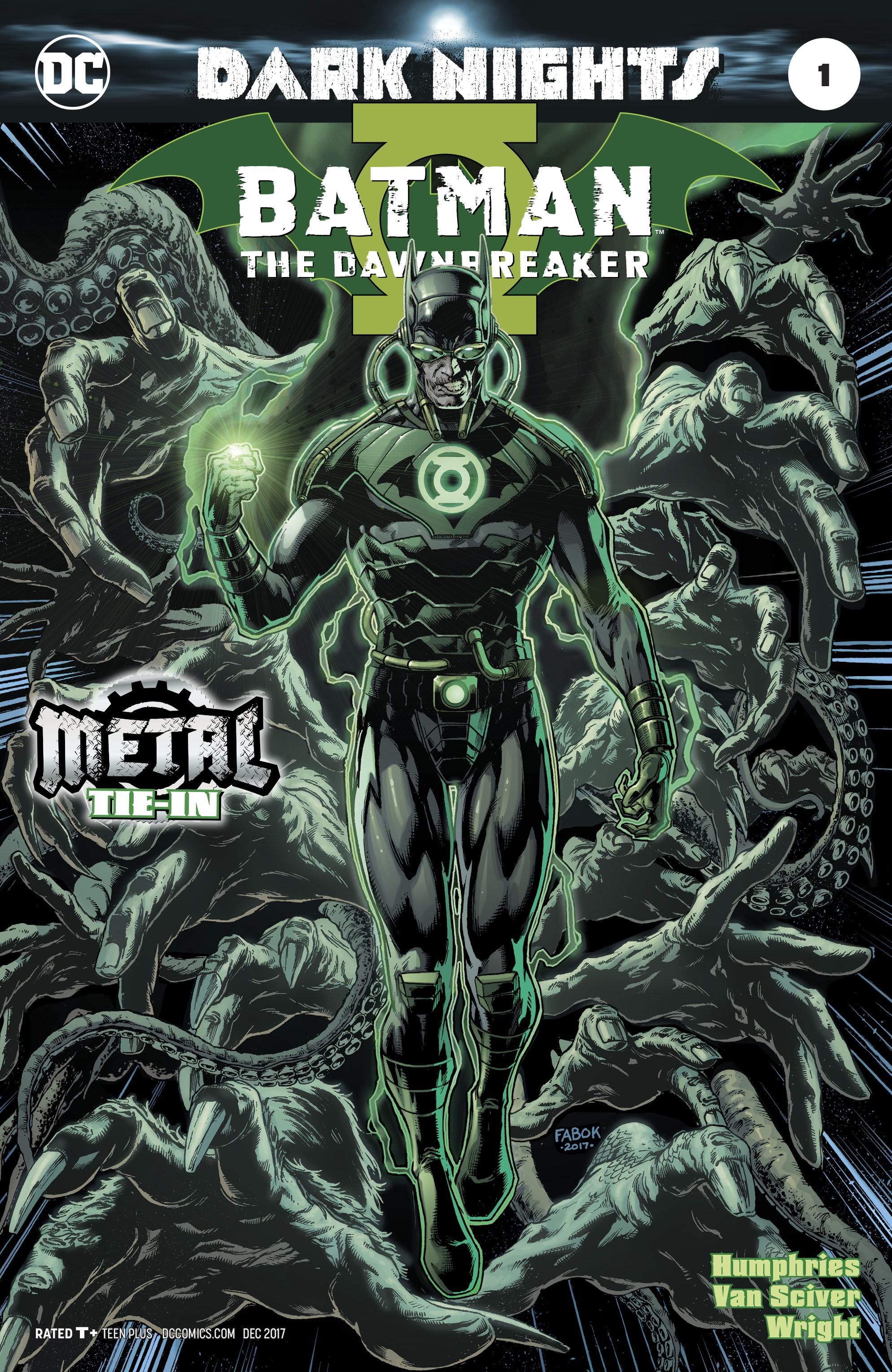 BATMAN THE DAWNBREAKER #1 METAL 2ND PTG