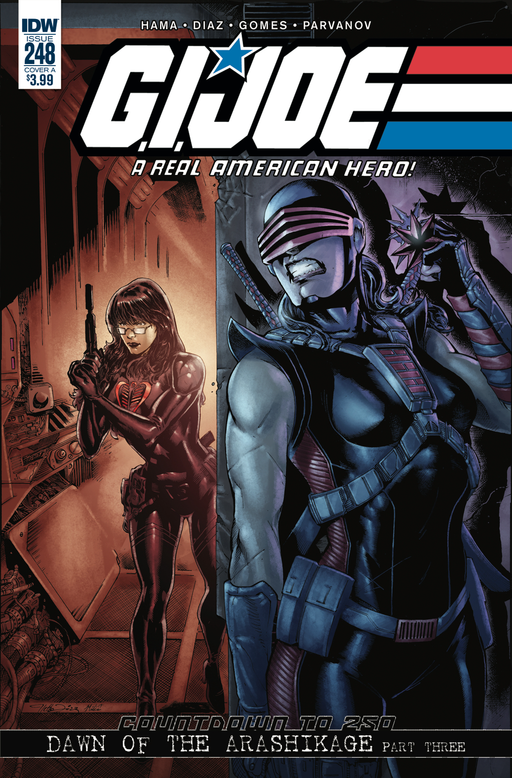 GI JOE A REAL AMERICAN HERO #248 CVR A DIAZ
