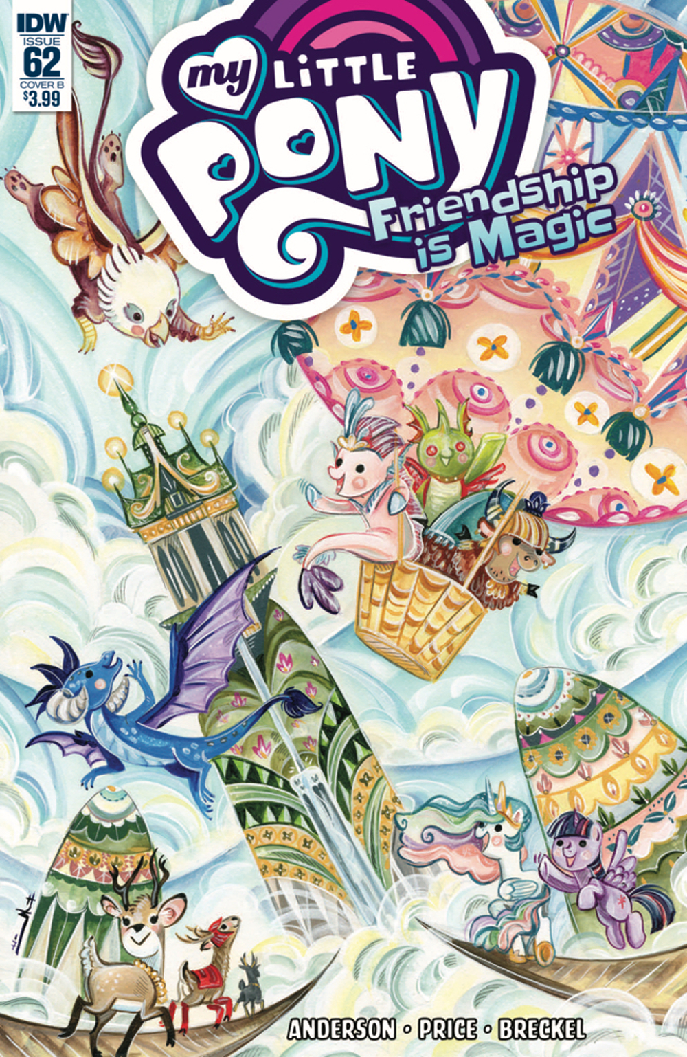 MY LITTLE PONY FRIENDSHIP IS MAGIC #62 CVR B RICHARD