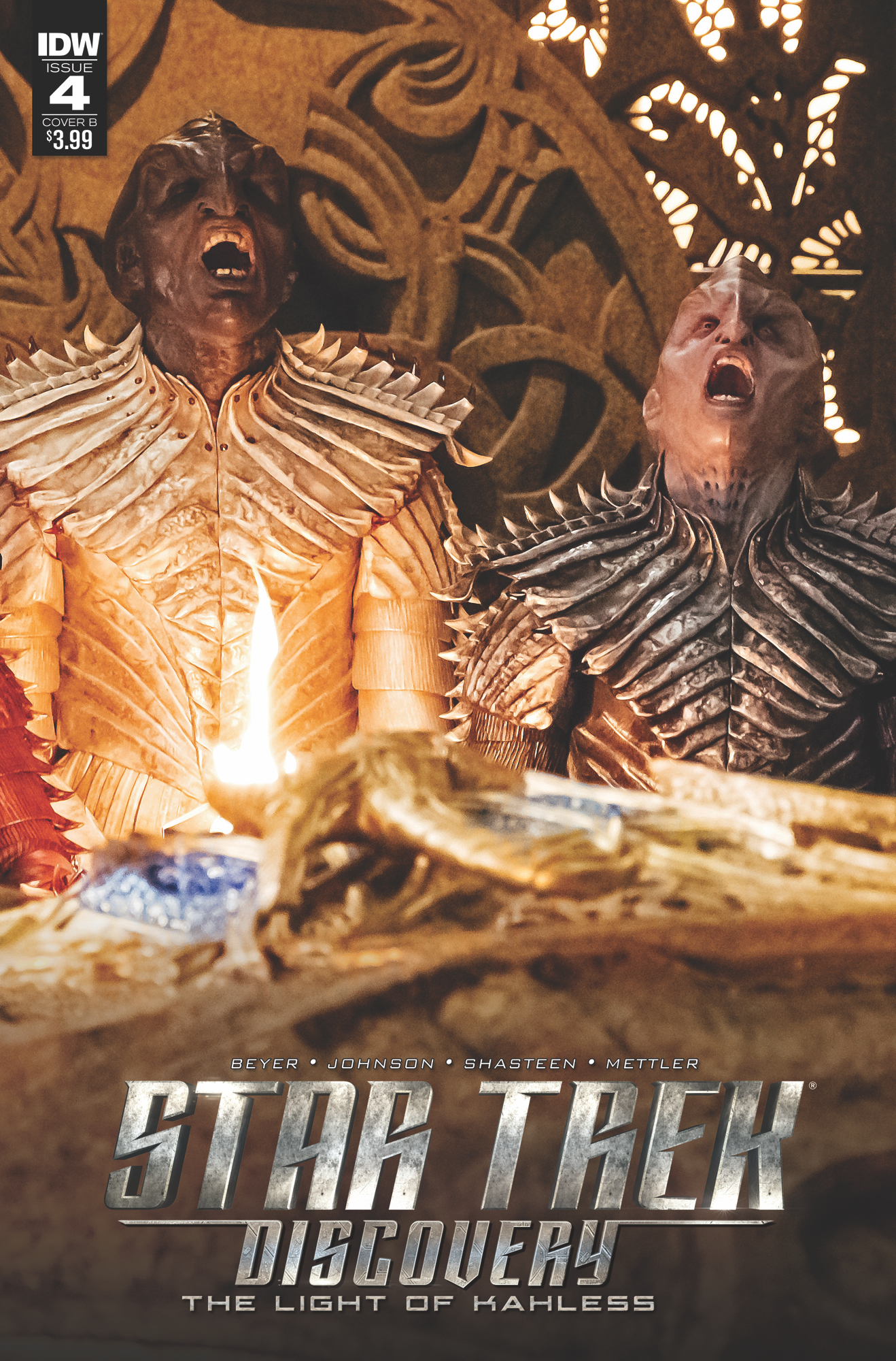 STAR TREK DISCOVERY #4 CVR B PHOTO