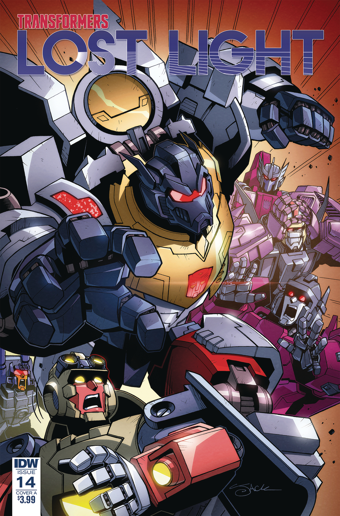 TRANSFORMERS LOST LIGHT #14 CVR A LAWRENCE