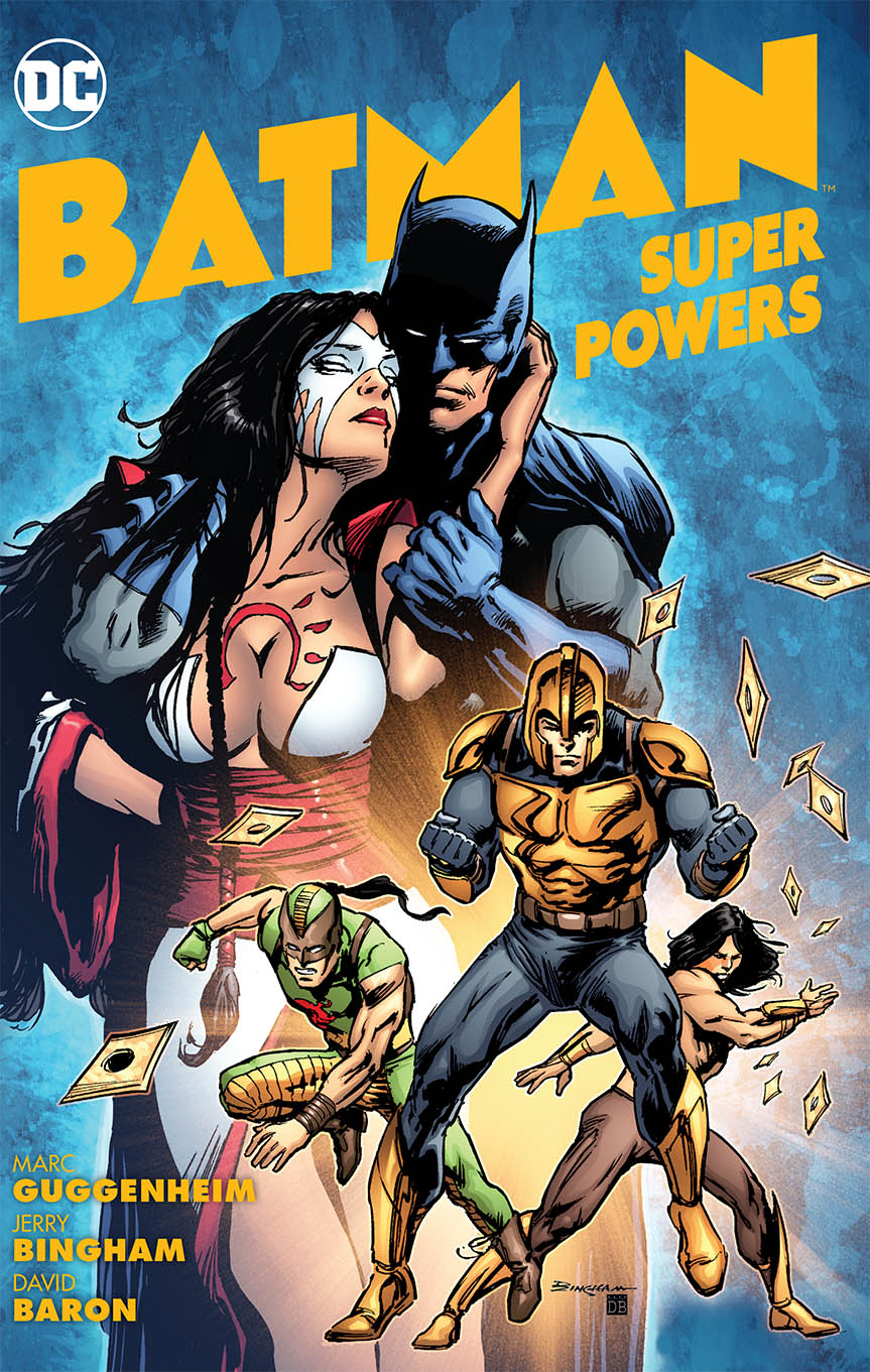 BATMAN SUPER POWERS TP