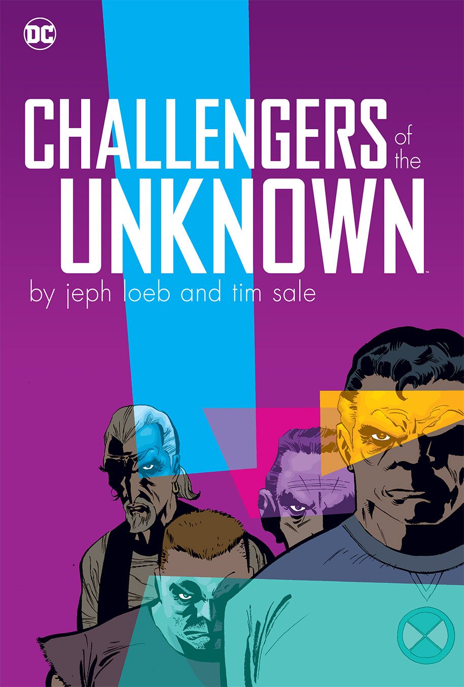 CHALLENGERS OF THE UNKNOWN BY JEPH LOEB & TIM SALE HC