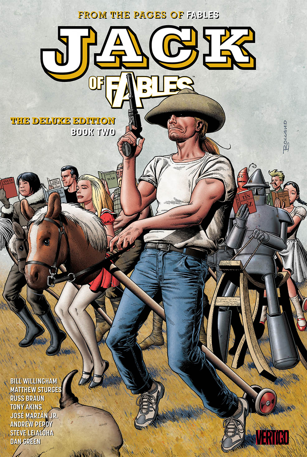 JACK OF FABLES DELUXE HC BOOK 02