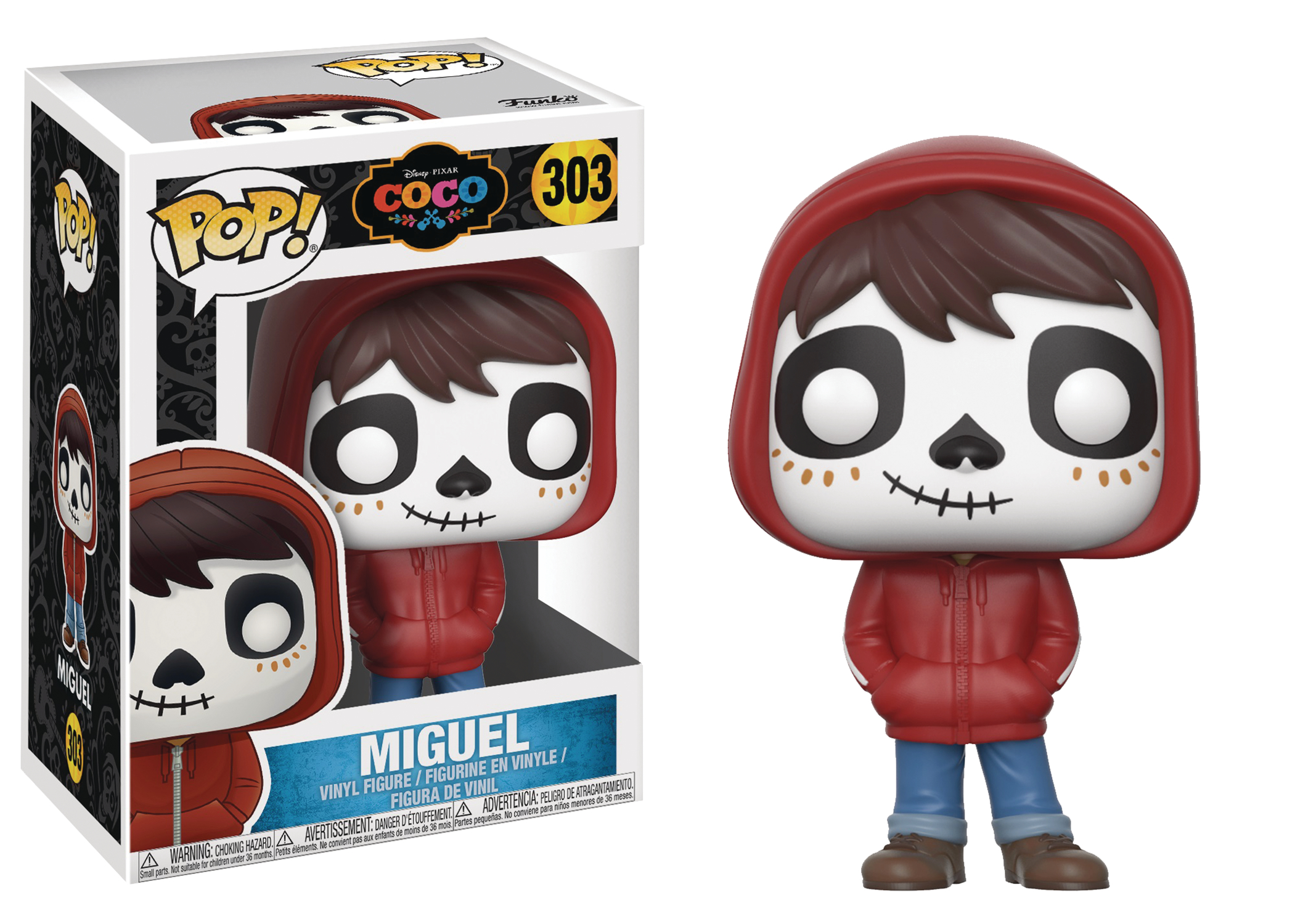 Aug178825 Pop Disney Coco Miguel Vinyl Figure Previews