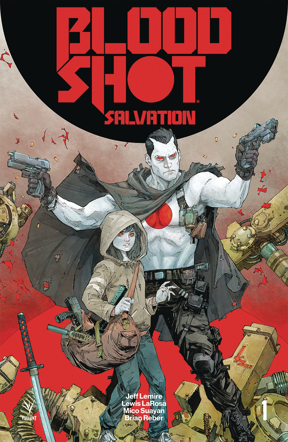 BLOODSHOT SALVATION #1 2ND PTG