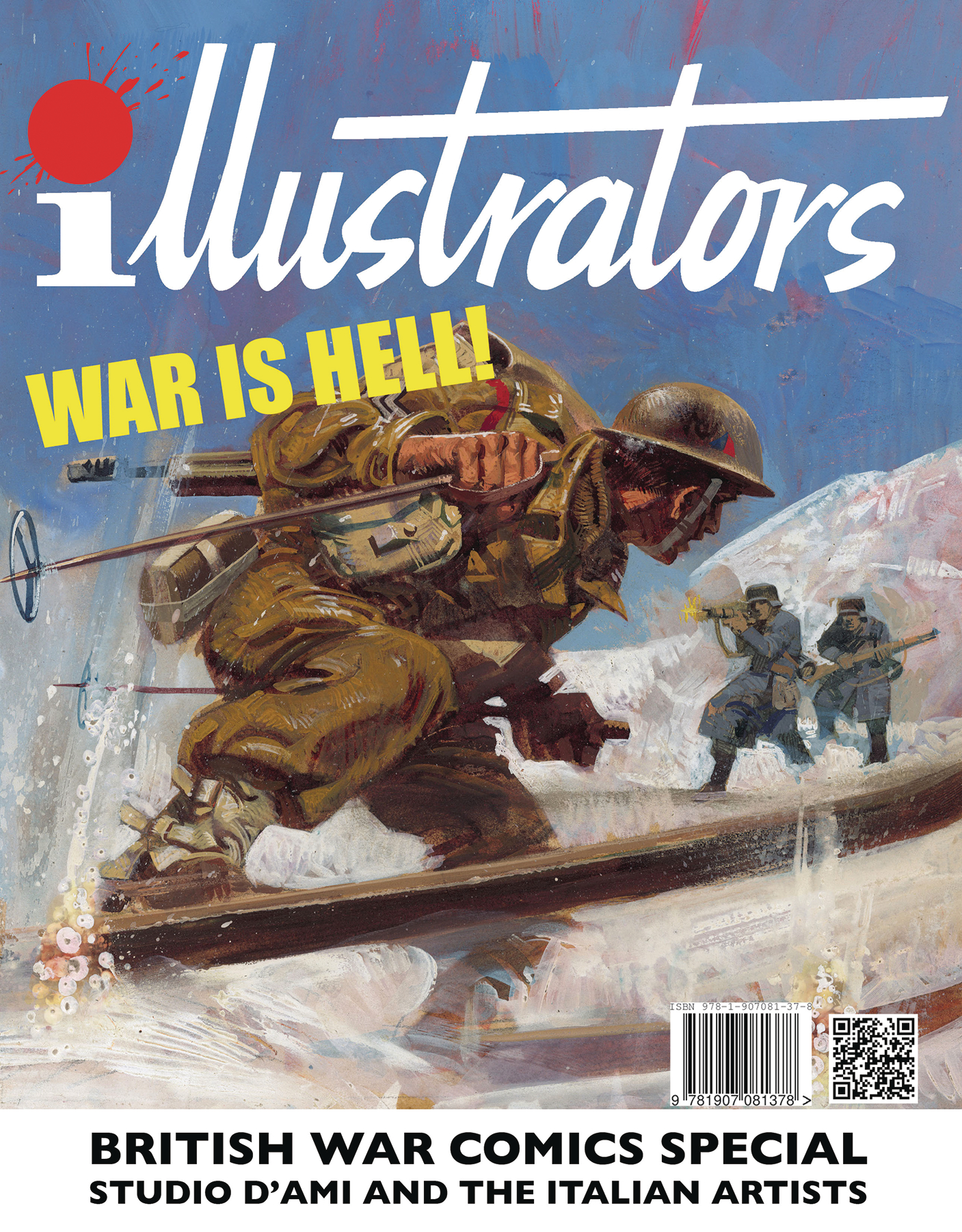 ILLUSTRATORS SPECIAL #2 WAR IS HELL