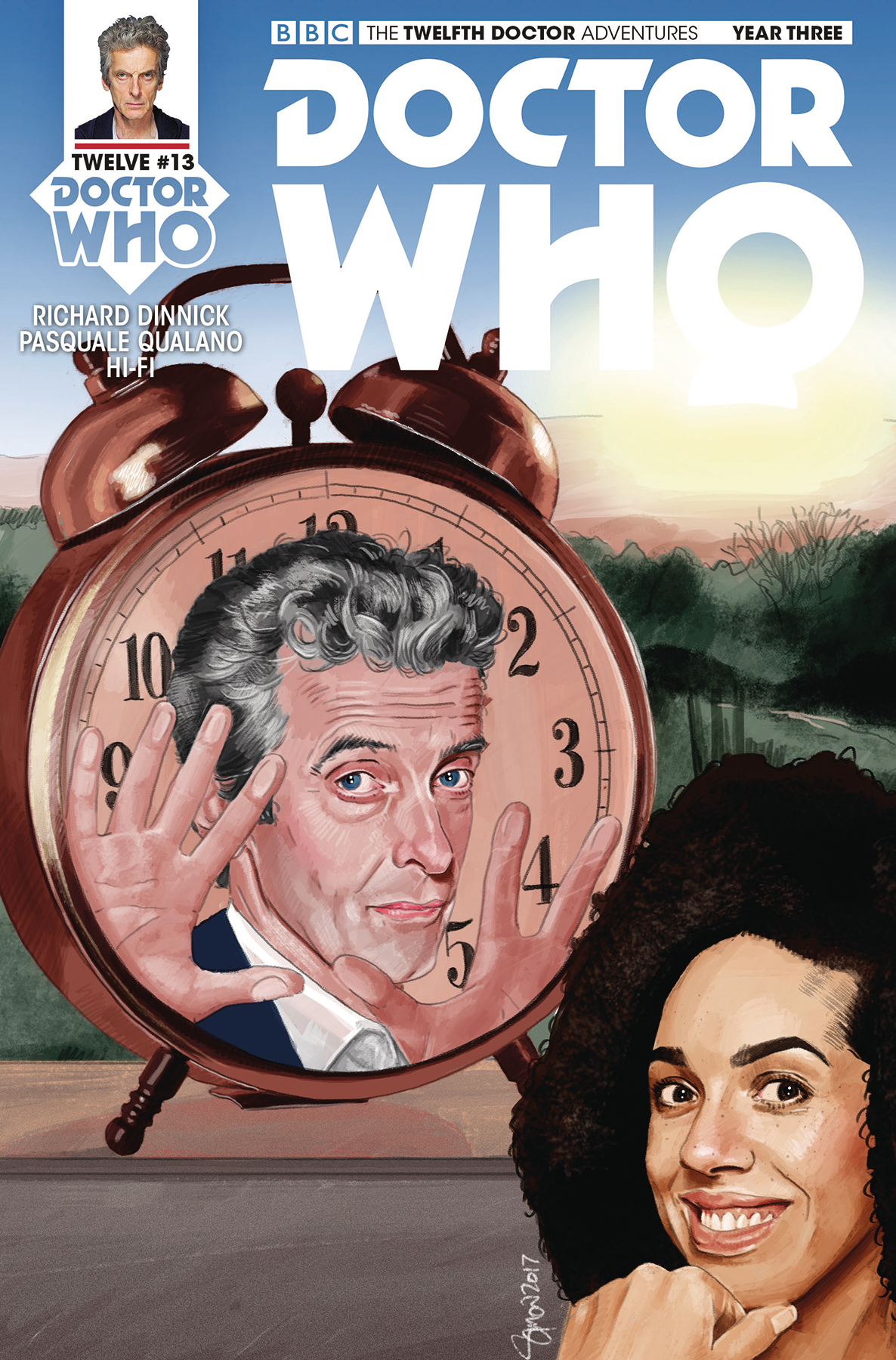 DOCTOR WHO 12TH YEAR THREE #13 CVR C MYERS