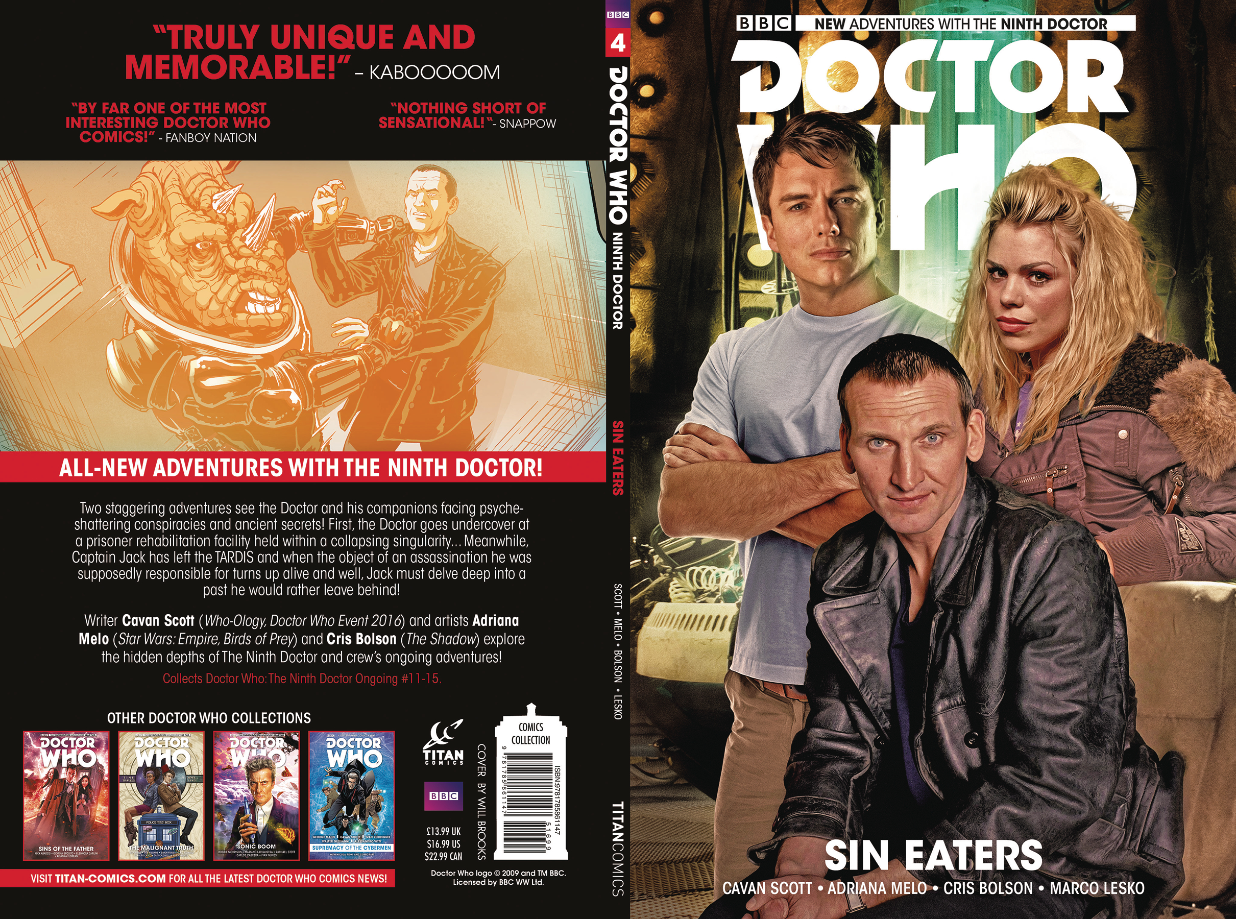 DOCTOR WHO 9TH TP VOL 04 SIN EATERS