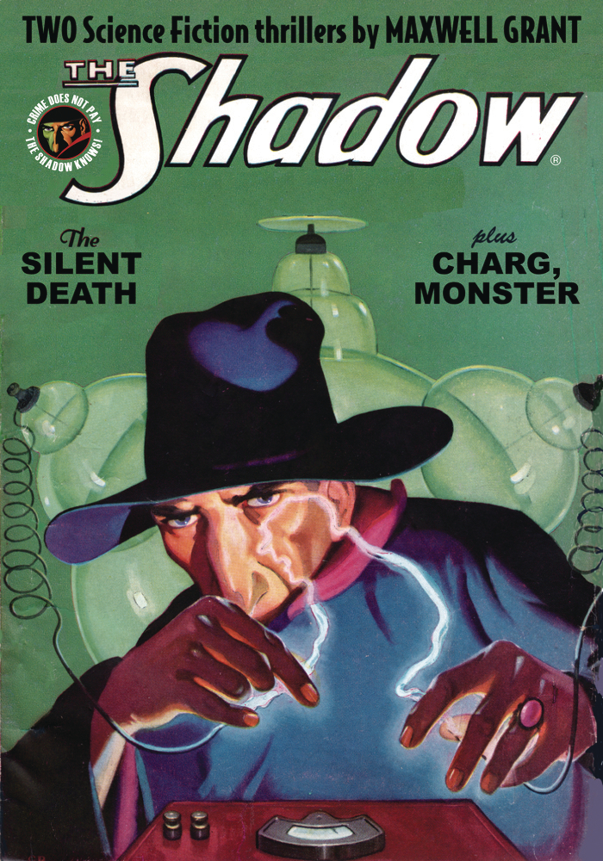 SHADOW DOUBLE NOVEL VOL 127 SILENT DEATH & CHARG MONSTER