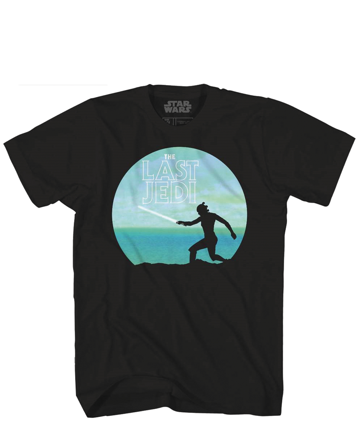 SW EPISODE 8 REY TRAINING PX BLACK T/S XL