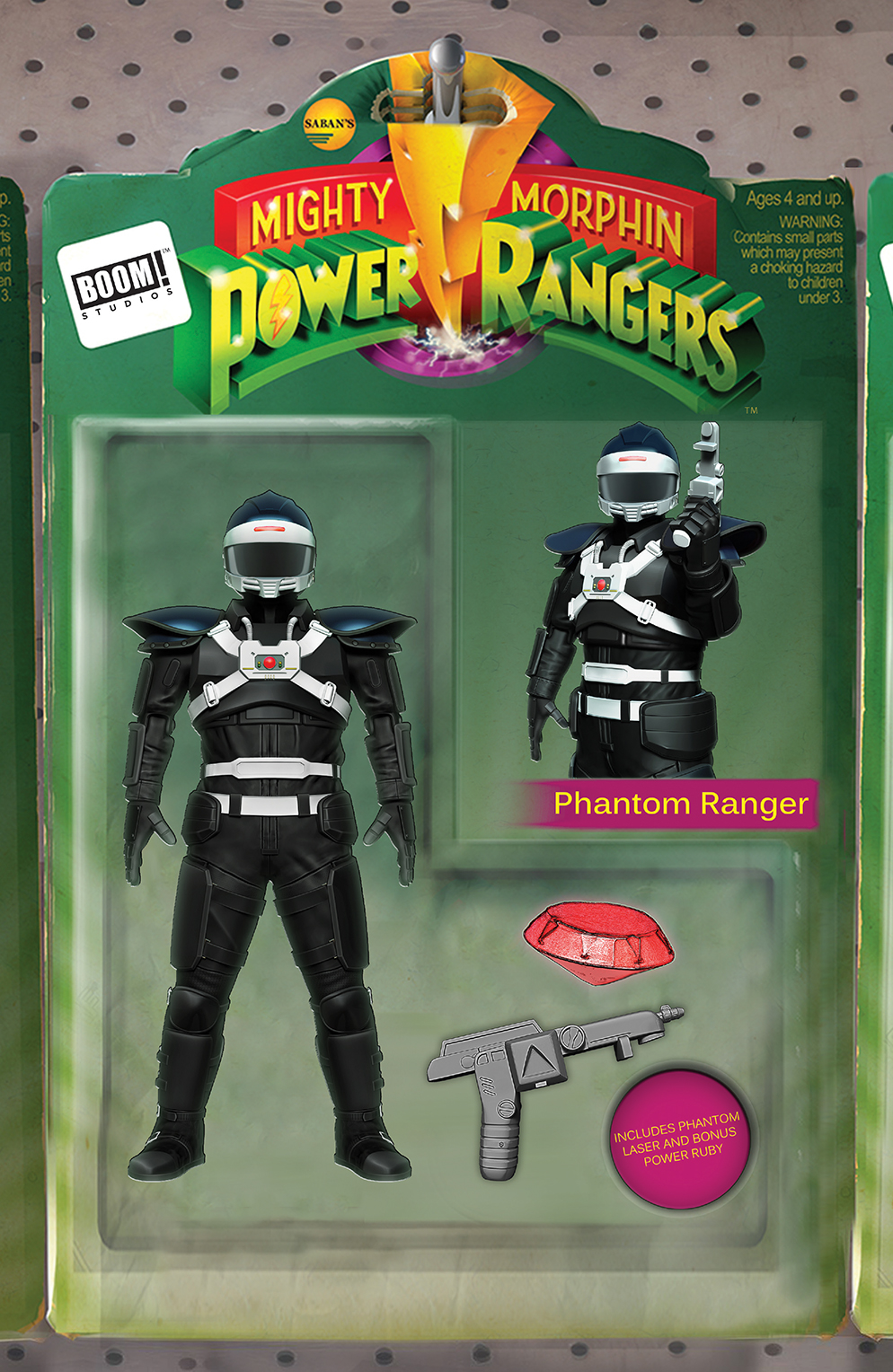 MIGHTY MORPHIN POWER RANGERS #24 ACTION FIGURE VAR SG