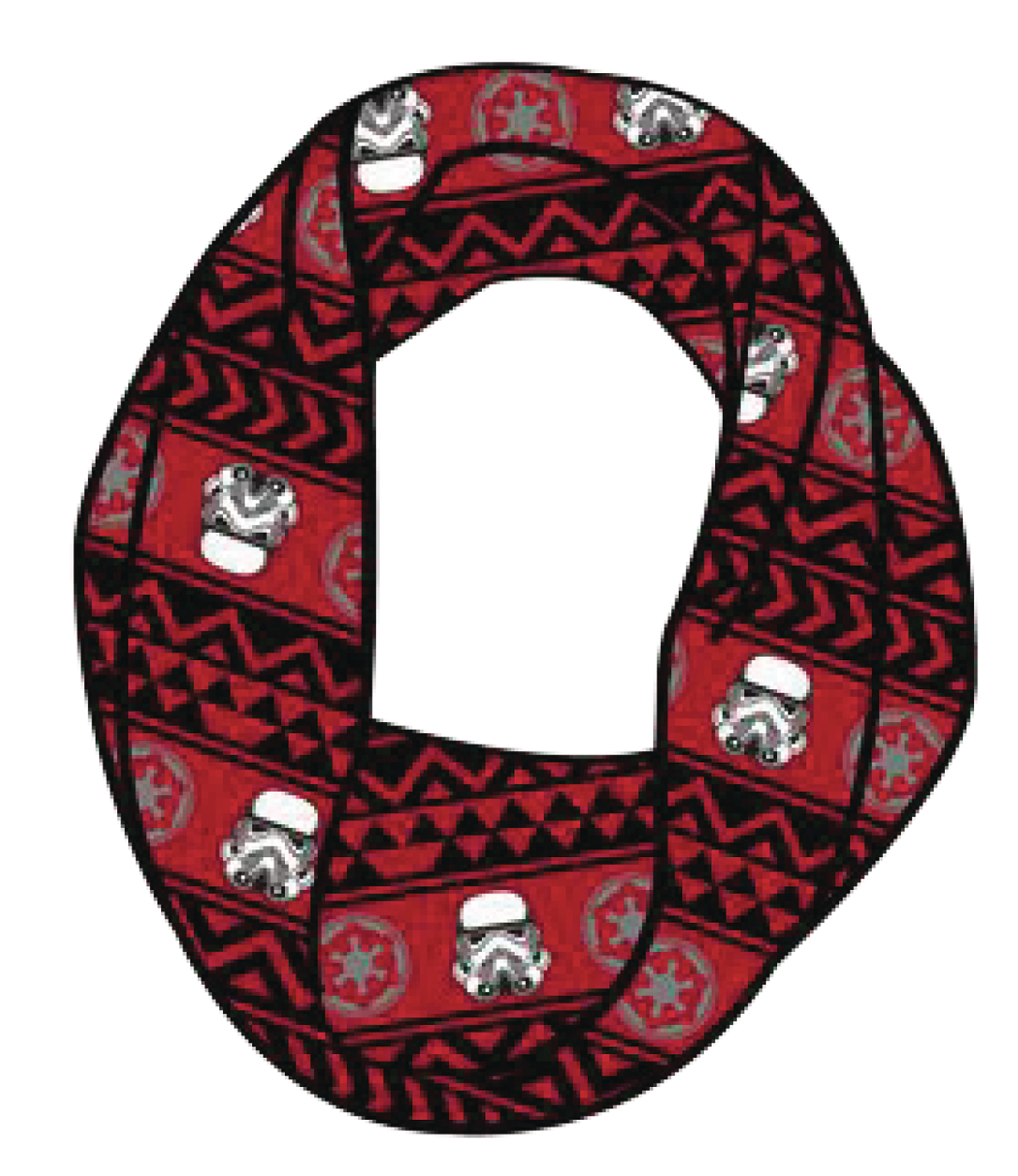 STAR WARS STORMTROOPER AZTEC SUBLIMATED INFINITY SCARF