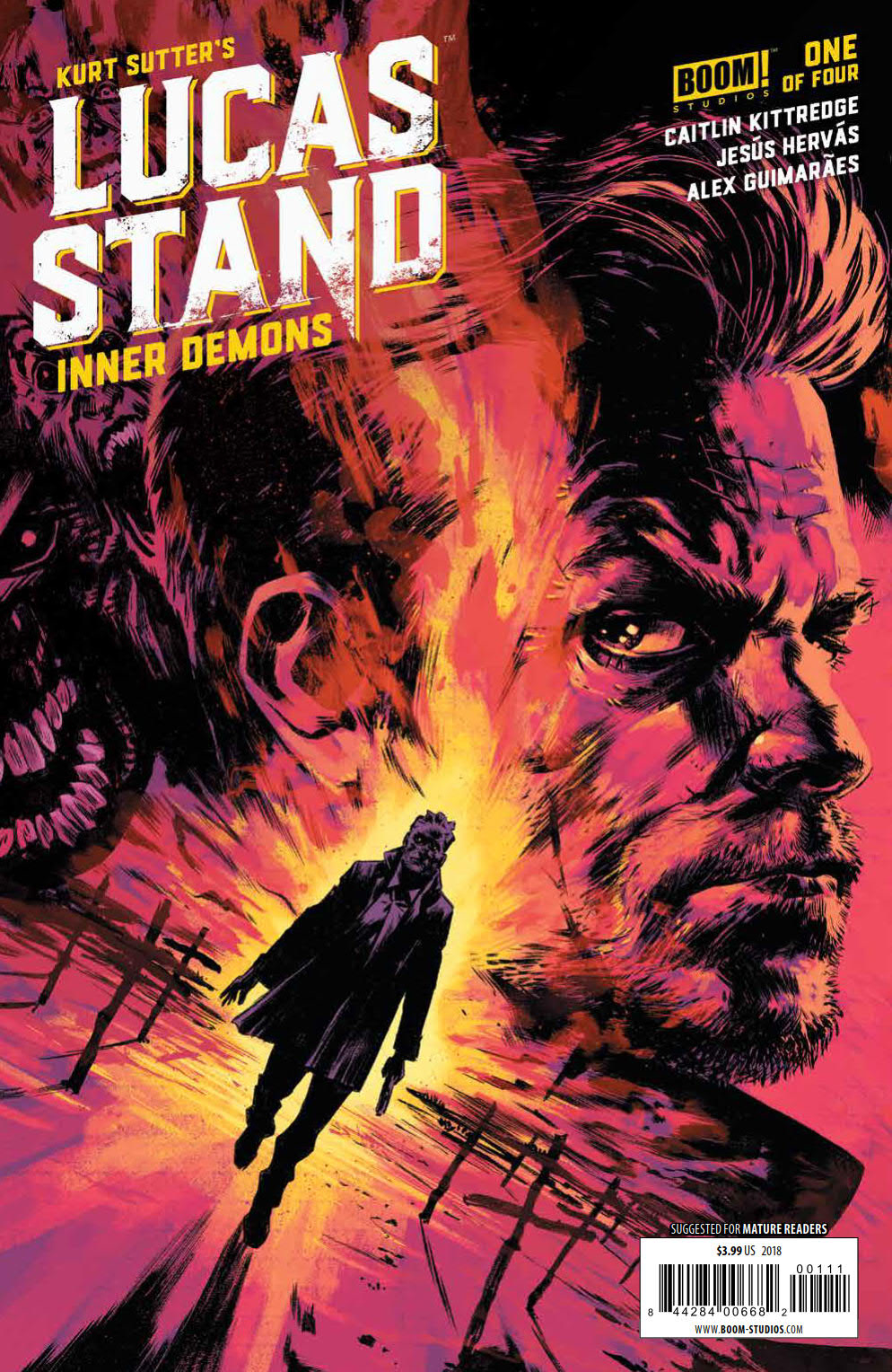 LUCAS STAND INNER DEMONS #1 (OF 4)