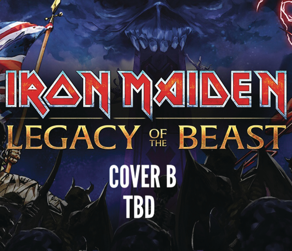IRON MAIDEN LEGACY OF THE BEAST #5