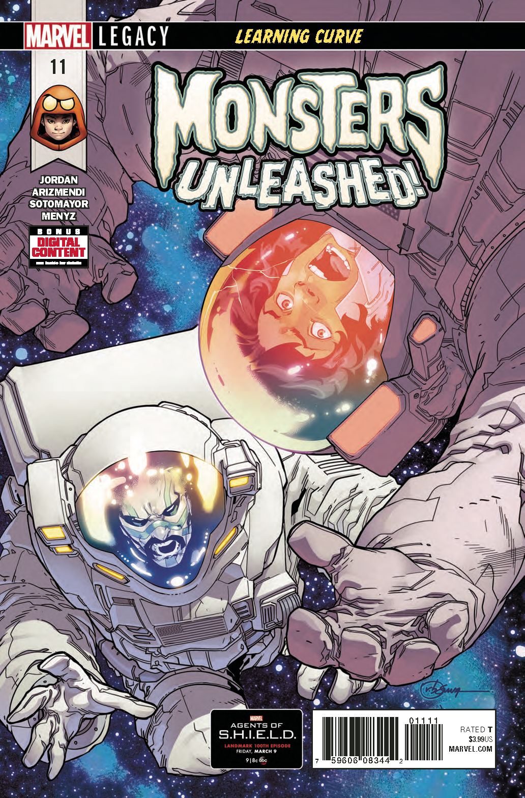 MONSTERS UNLEASHED #11 LEG