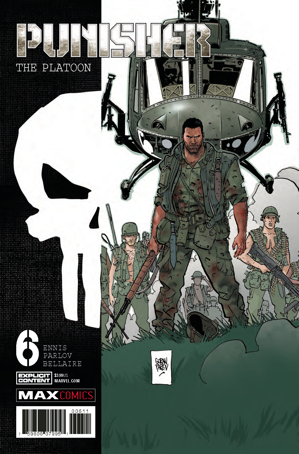 PUNISHER PLATOON #6 (OF 6)