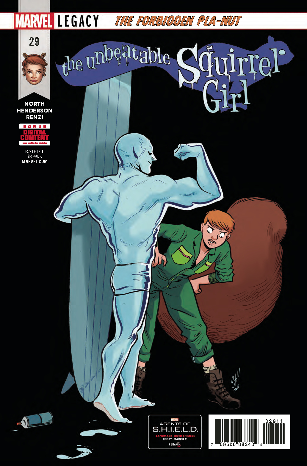 UNBEATABLE SQUIRREL GIRL #29 LEG