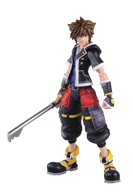 Oct182723 Kingdom Hearts 3 Sora 2nd Form Bring Arts 6in