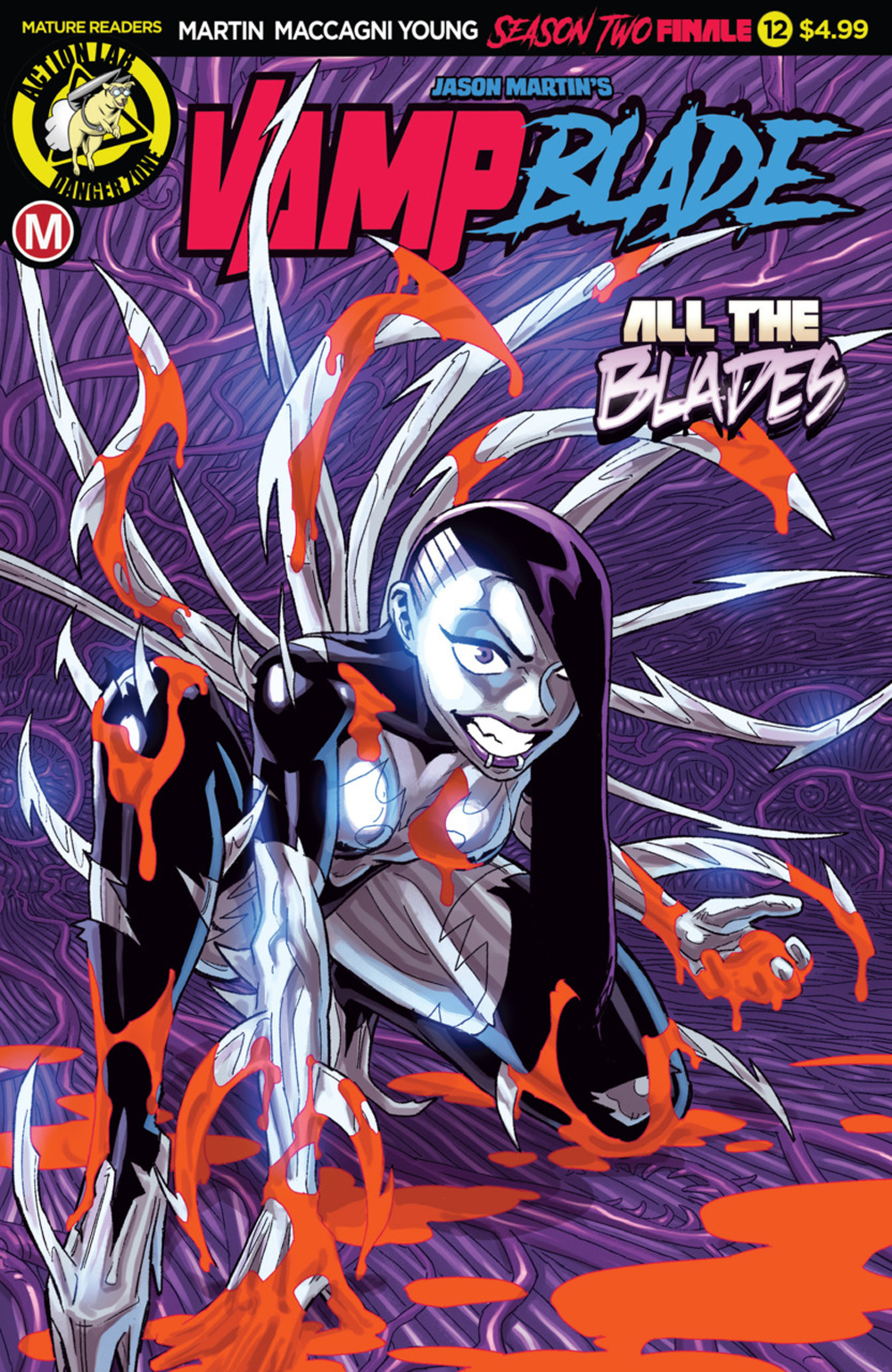 VAMPBLADE SEASON TWO #12 CVR A WINSTON YOUNG