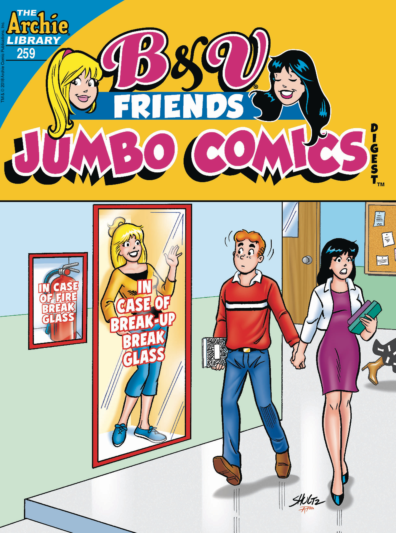 B & V FRIENDS JUMBO COMICS DIGEST #259