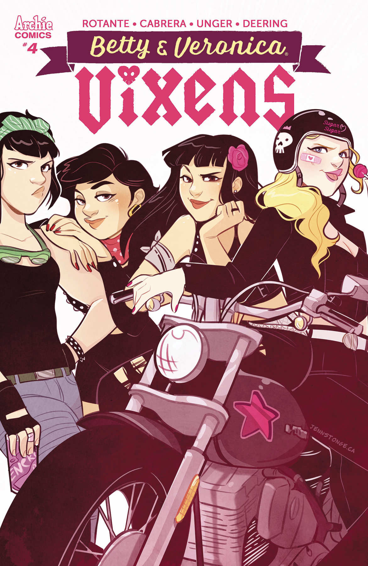 BETTY AND VERONICA VIXENS #4 (OF 10) CVR C ST ONGE