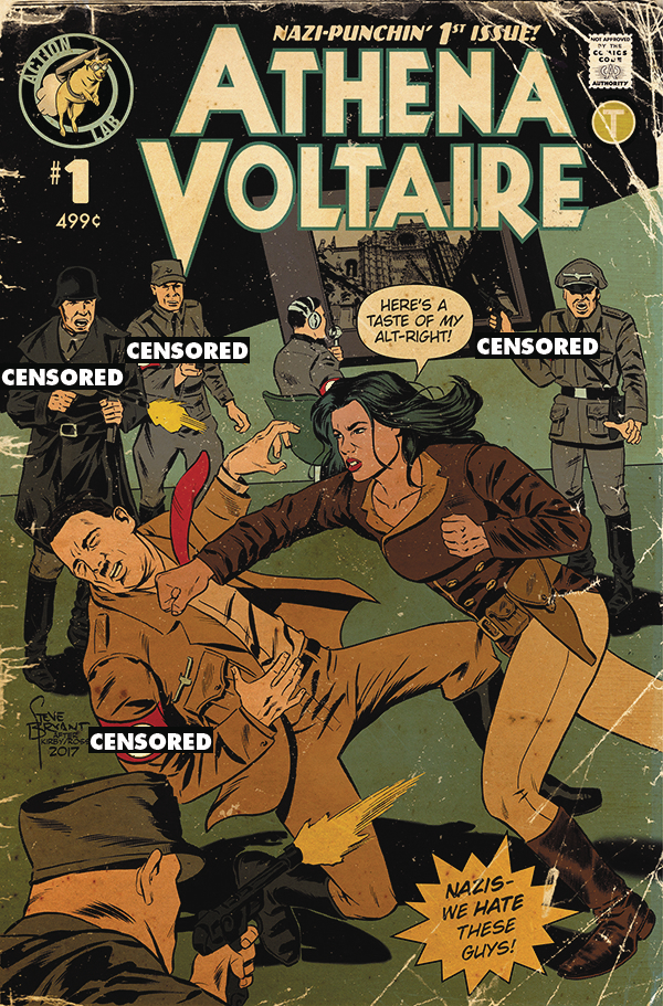 ATHENA VOLTAIRE 2018 ONGOING #1 CVR B BRYANT RETRO