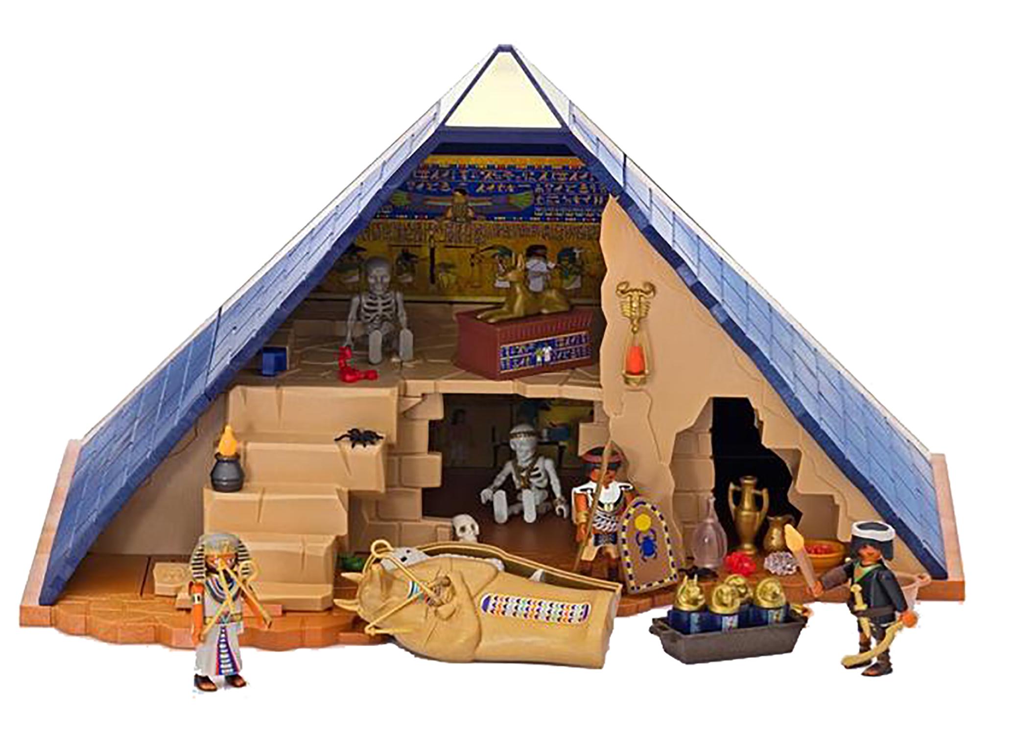 Sep178522 playmobil egyptian pharaohs pyramid play set - Playmobil egyptien ...