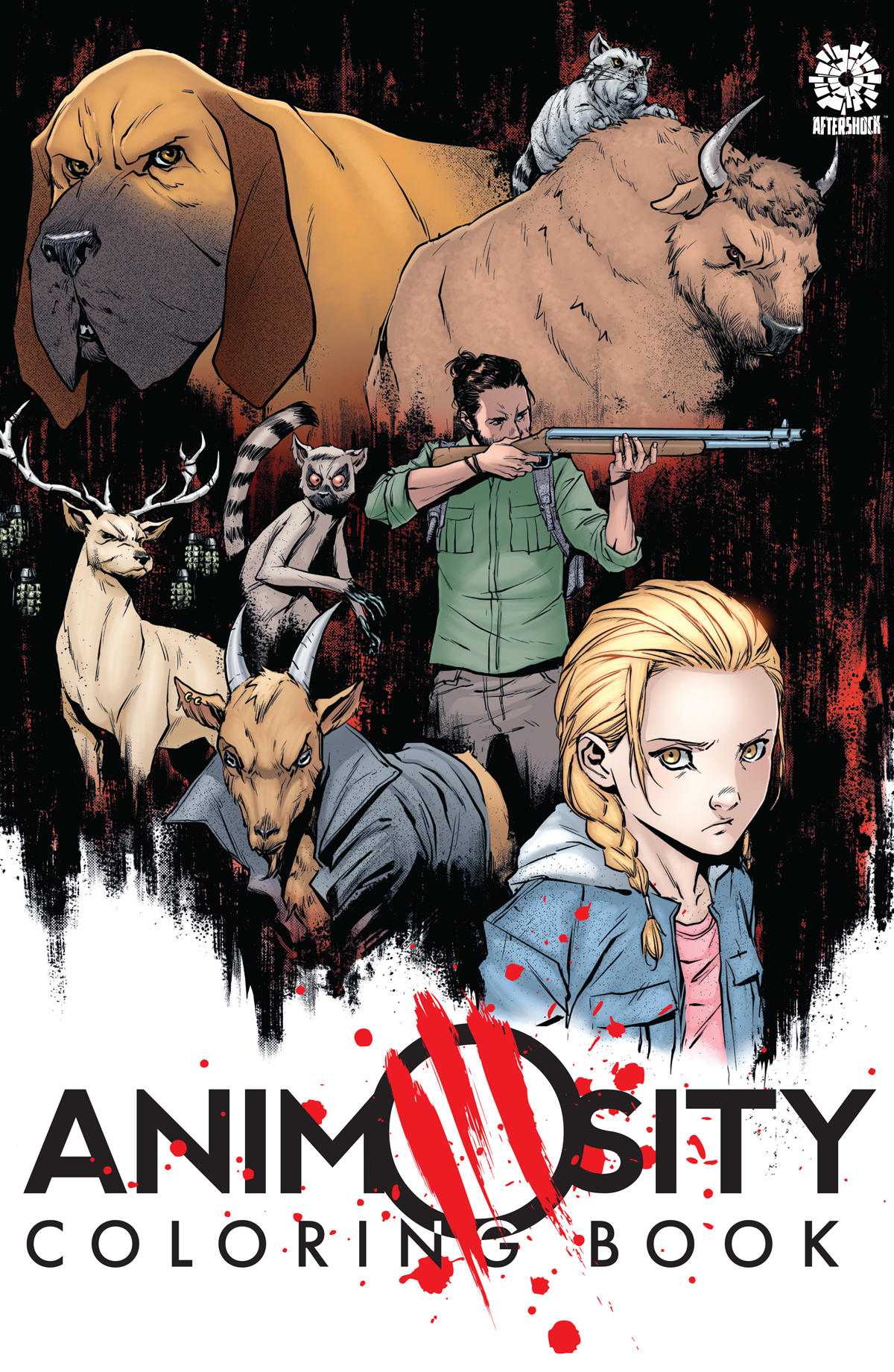 ANIMOSITY COLORING BOOK TP (DEC171031)