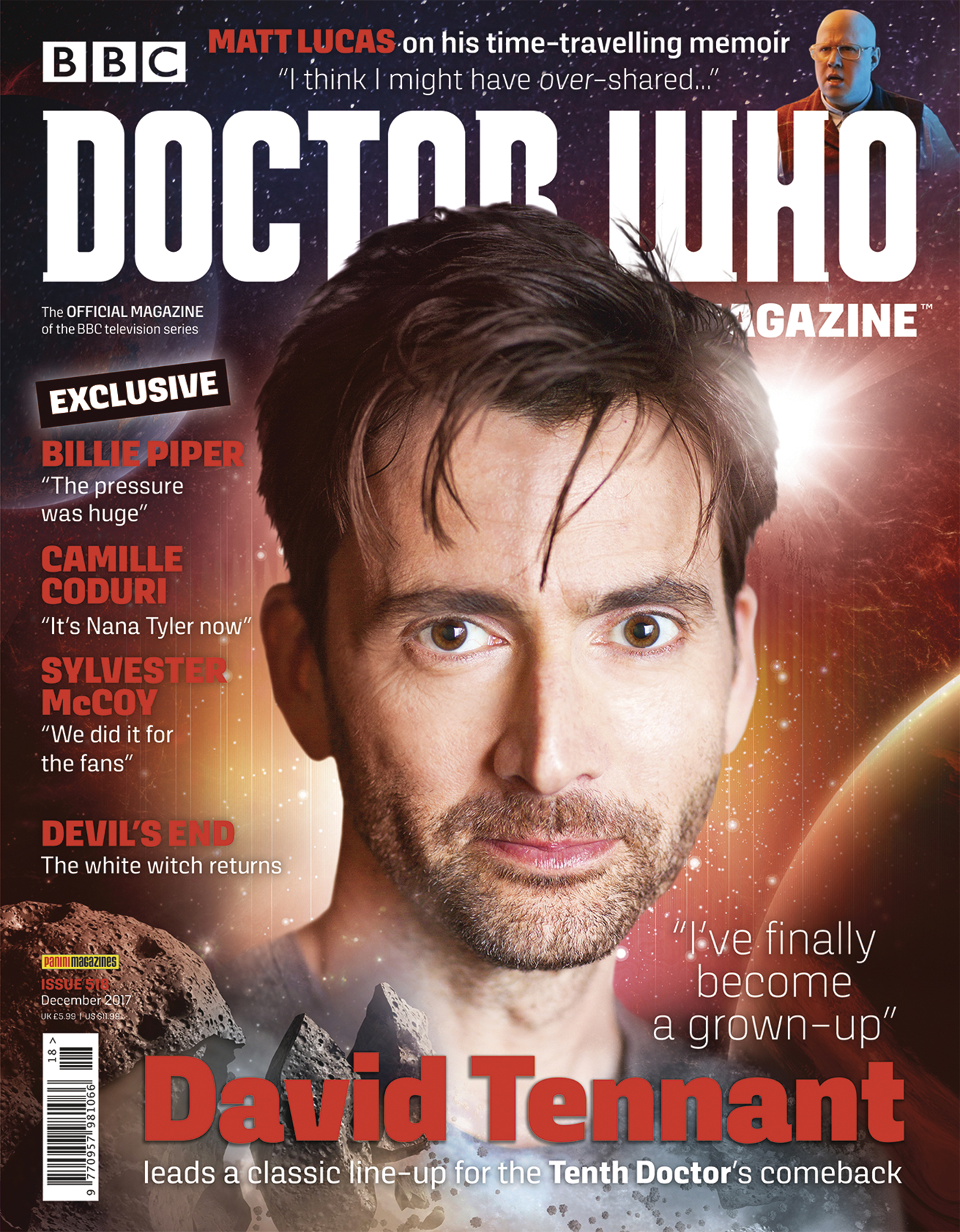 DOCTOR WHO MAGAZINE #522