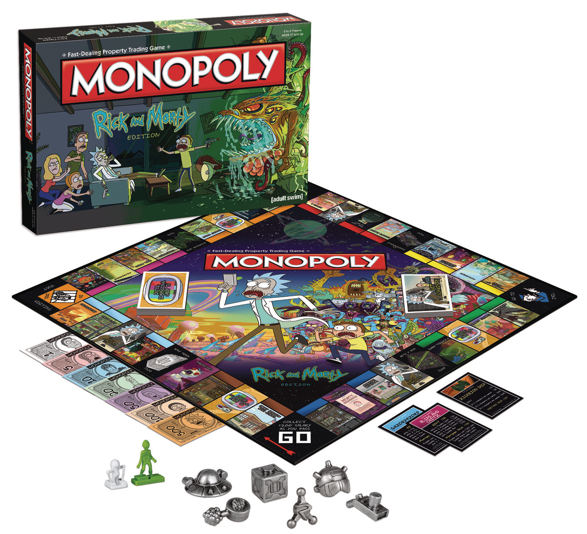 RICK AND MORTY MONOPOLY ED