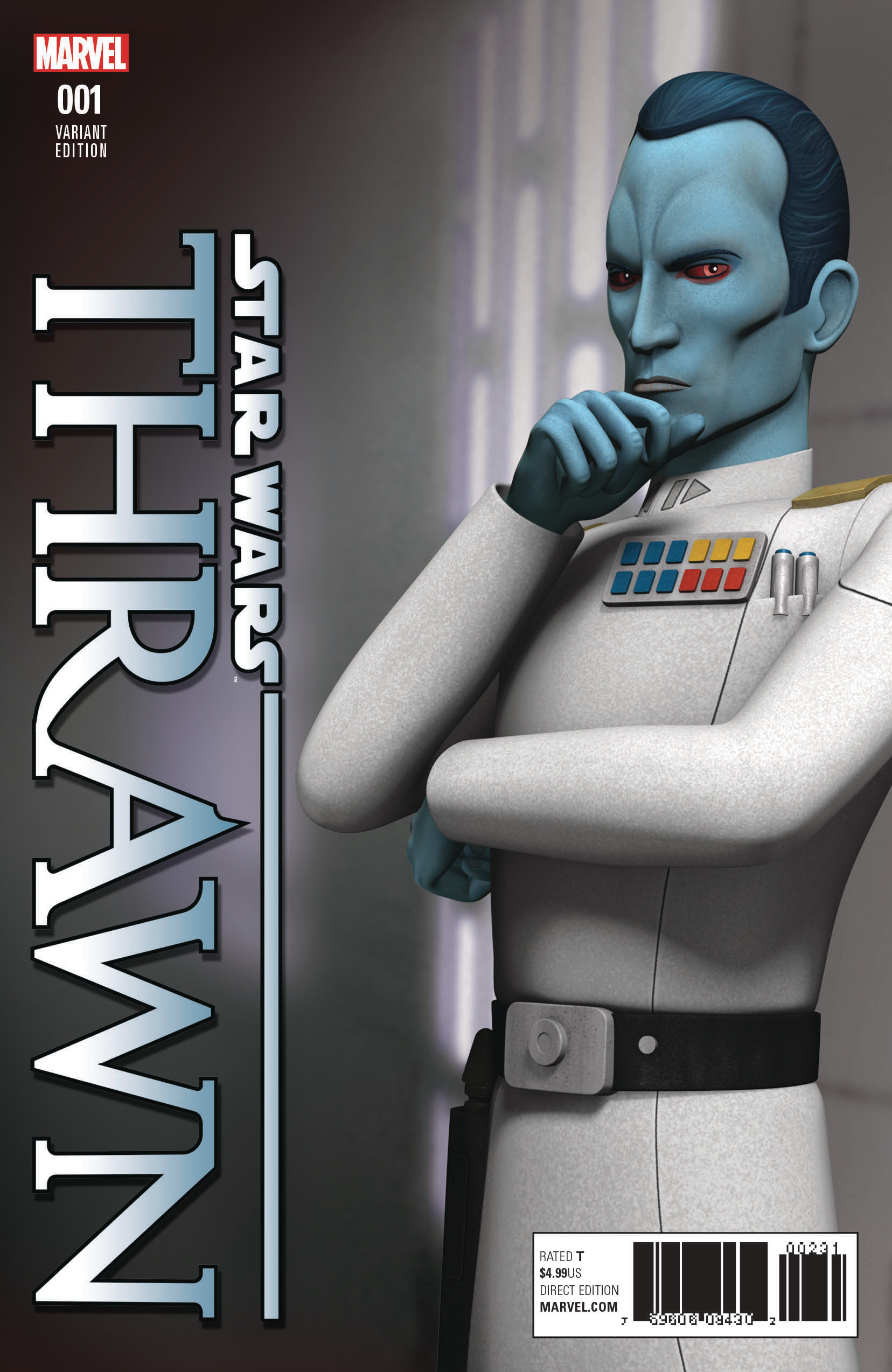 STAR WARS THRAWN #1 (OF 6) ANIMATION VAR