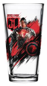 JUSTICE LEAGUE MOVIE CYBORG PINT GLASS