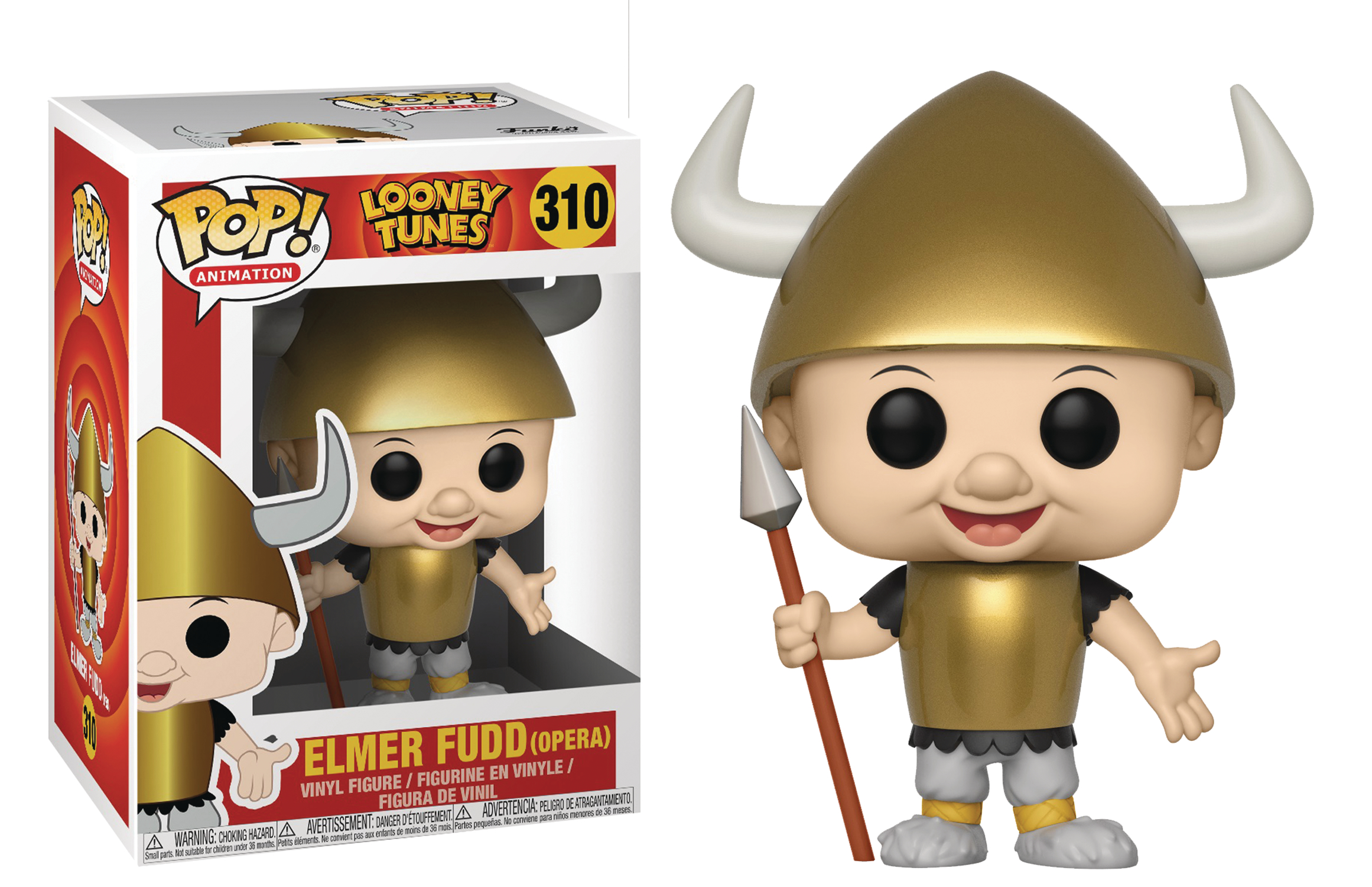 POP LOONEY TUNES ELMER FUDD VIKING VINYL FIGURE