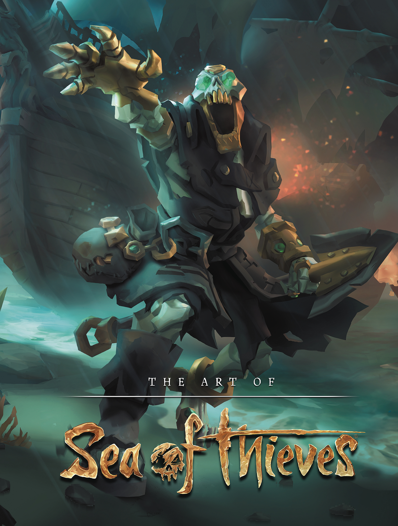 ART OF SEA OF THIEVES HC (SEP178604)