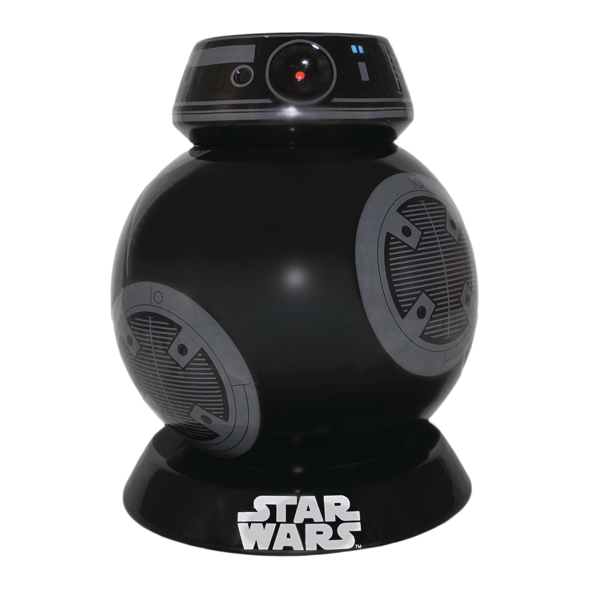 SW LAST JEDI BB-9E CERAMIC LIDDED COOKIE JAR
