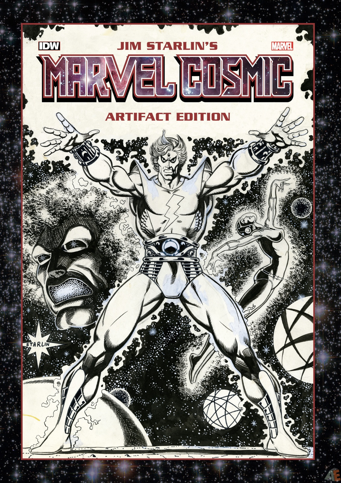 JIM STARLIN MARVEL COSMIC ARTIFACT ED HC