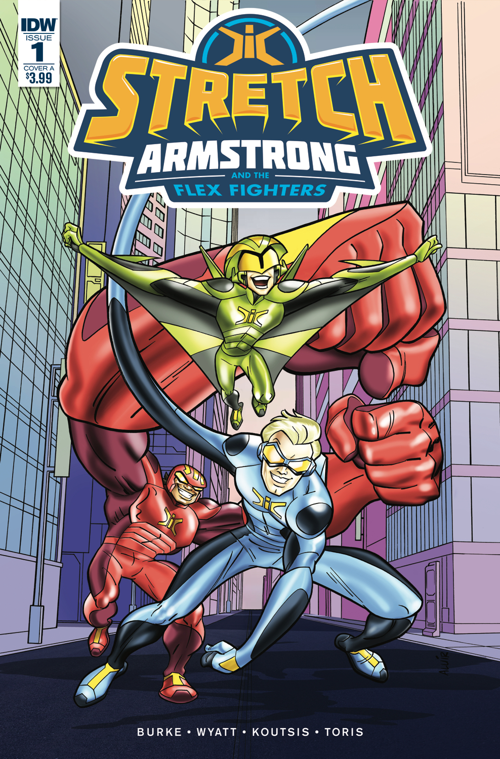 STRETCH ARMSTRONG & FLEX FIGHTERS #2