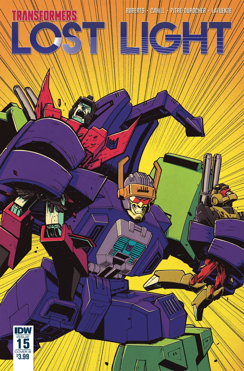 TRANSFORMERS LOST LIGHT #15 CVR B ROCHE