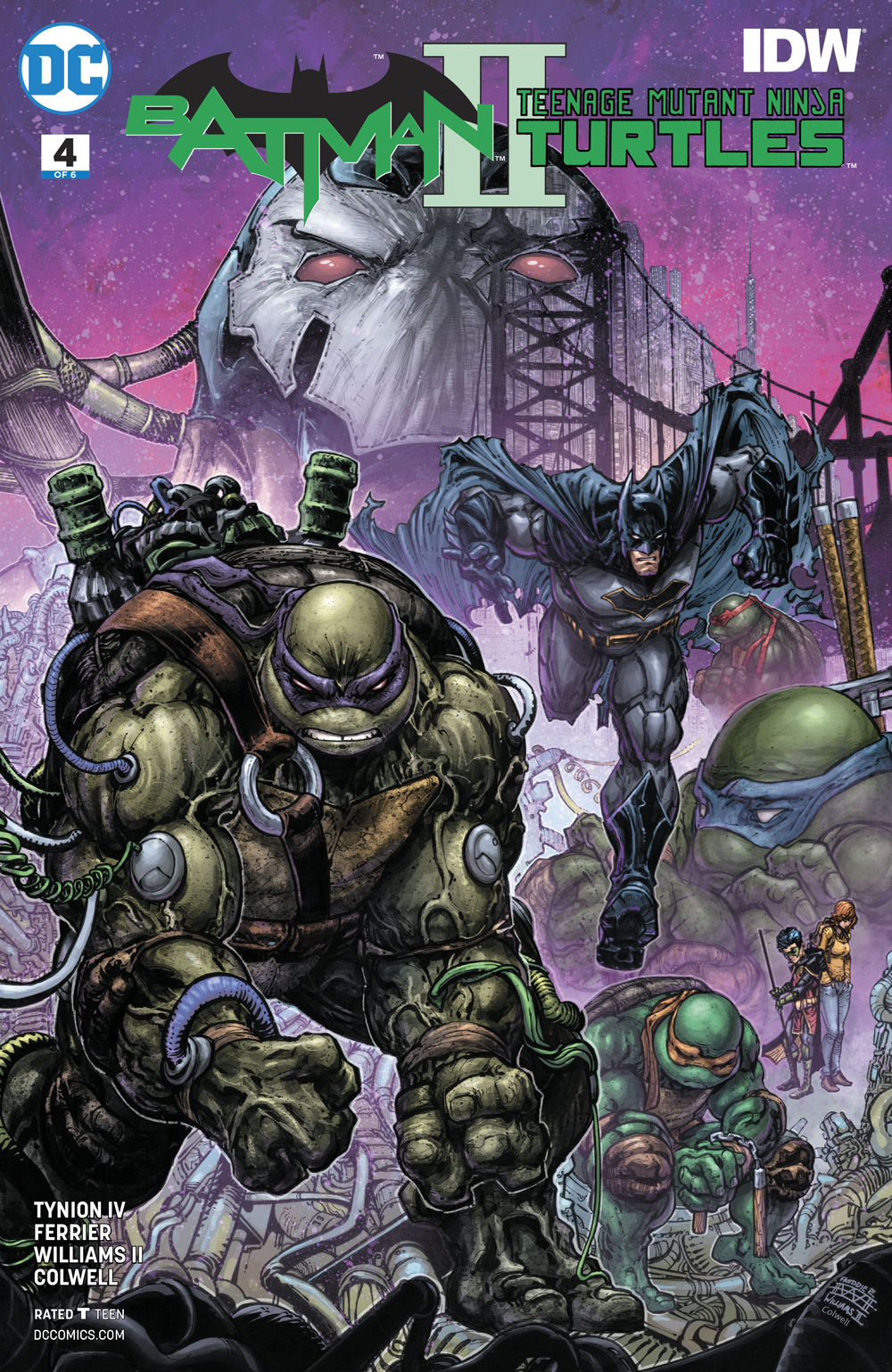 BATMAN TEENAGE MUTANT NINJA TURTLES II #4